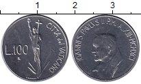 Изображение Монеты Европа Ватикан 100 лир 1991 Сталь UNC