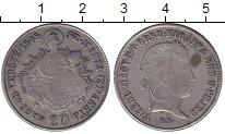 Изображение Монеты Европа Венгрия 20 крейцеров 1848 Серебро XF-