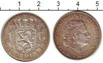 Изображение Монеты Европа Нидерланды 1 гульден 1957 Серебро XF
