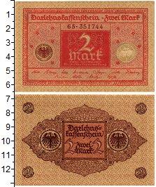 Изображение Банкноты Веймарская республика 2 марки 1920  UNC-