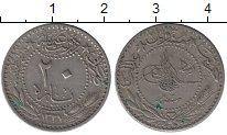 Изображение Монеты Азия Турция 20 пар 1910 Медно-никель XF