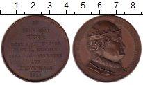 Изображение Монеты Европа Франция Медаль 1819 Медь XF