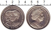 Изображение Монеты Великобритания Британско - Индийские океанские территории 2 фунта 2011 Медно-никель UNC-