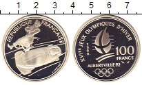 Изображение Монеты Европа Франция 100 франков 1990 Серебро Proof