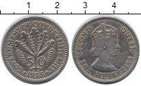 Изображение Монеты Азия Кипр 50 милс 1955 Медно-никель XF