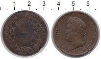 Изображение Монеты Европа Франция 10 сантим 1841 Медь XF
