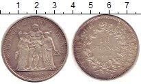 Изображение Монеты Франция 10 франков 1966 Серебро UNC-