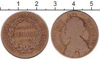 Изображение Монеты Франция Мартиника 1 франк 1922 Медно-никель VF
