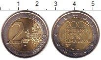 Изображение Монеты Франция 2 евро 2008 Биметалл UNC-