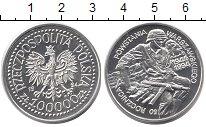 Изображение Монеты Польша 100000 злотых 1994 Серебро Proof 50  лет  Варшавского