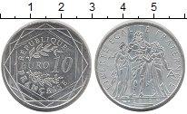 Изображение Монеты Европа Франция 10 евро 2013 Серебро UNC