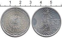 Изображение Монеты Франция 10 евро 2009 Серебро UNC