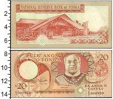 Изображение Банкноты Австралия и Океания Тонга 100 динар 0  UNC-