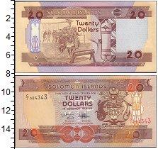 Изображение Банкноты Соломоновы острова 20 долларов 0  UNC