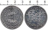 Изображение Монеты Европа Франция 10 евро 2014 Серебро UNC
