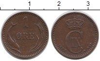 Изображение Монеты Дания 1 эре 1899 Бронза XF