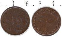 Изображение Монеты Люксембург 10 сантим 1930 Бронза XF-