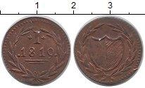 Изображение Монеты Франкфурт 1 пфенниг 1819 Медь XF-
