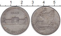 Изображение Монеты Гватемала 25 сентаво 1943 Серебро VF