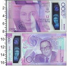 Изображение Банкноты Гибралтар 100 фунтов 2015  UNC