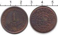 Изображение Монеты Мозамбик 1 эскудо 1973 Бронза XF
