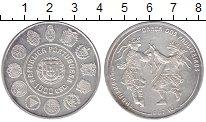 Изображение Монеты Португалия 1000 эскудо 1997 Серебро UNC-
