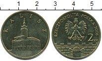 Изображение Мелочь Польша 2 злотых 2006 Латунь UNC- Калиш