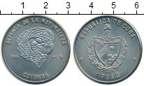 Изображение Монеты Северная Америка Куба 1 песо 1985 Медно-никель UNC-