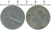 Изображение Монеты Африка Танзания 1 шиллинг 1982 Медно-никель XF-