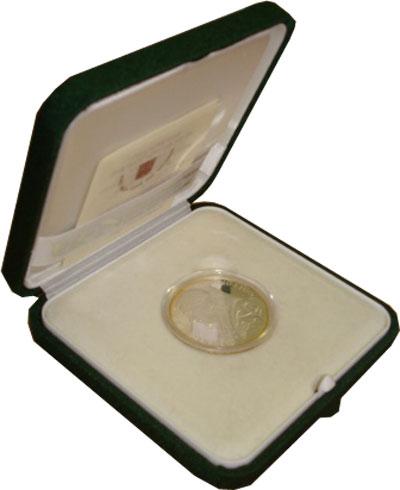 Изображение Подарочные монеты Ватикан 60-летие окончания II Мировой войны 2005 Серебро Proof