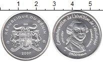 Изображение Монеты Африка Бенин 2500 франков 2007 Серебро UNC