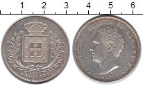 Изображение Монеты Португалия 500 рейс 1889 Серебро XF+