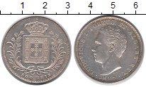 Изображение Монеты Европа Португалия 500 рейс 1889 Серебро XF+