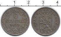 Изображение Монеты Германия Нассау 6 крейцеров 1855 Серебро XF