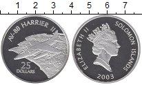 Изображение Монеты Соломоновы острова 25 долларов 2003 Серебро Proof Елизавета II. Авиаци