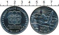 Изображение Мелочь США Гавайские острова 2 доллара 2017 Медно-никель UNC