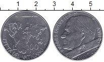 Изображение Монеты Европа Ватикан 100 лир 1985 Сталь UNC-