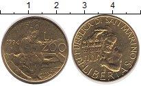 Изображение Монеты Сан-Марино 200 лир 1994 Латунь UNC-
