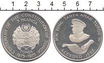 Изображение Монеты Австралия и Океания Тонга 5 панга 1975 Серебро Proof-