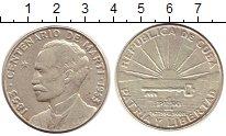 Изображение Монеты Куба 1 песо 1953 Серебро XF-