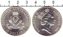 Изображение Монеты Австралия 10 долларов 1986 Серебро UNC