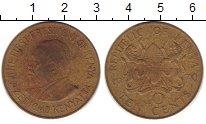 Изображение Монеты Кения 10 центов 1970 Латунь XF- Кеньятта