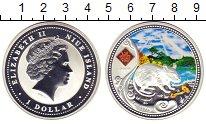 Изображение Монеты Ниуэ 1 доллар 2008 Серебро Proof