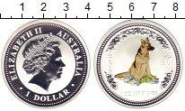 Изображение Монеты Австралия 1 доллар 2006 Серебро Proof