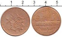 Изображение Монеты Европа Франция 10 франков 1979 Медь XF