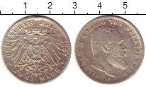 Изображение Монеты Вюртемберг 2 марки 1907 Серебро XF- Вильгельм II