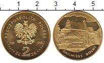Изображение Мелочь Польша 2 злотых 2008 Латунь UNC- KAZIMIERZ DOLNY