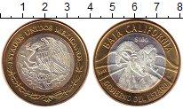 Изображение Монеты Северная Америка Мексика 100 песо 2005 Серебро UNC