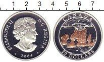 Изображение Монеты Канада 20 долларов 2004 Серебро Proof