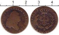 Изображение Монеты Германия Пруссия 1 грош 1793 Медь